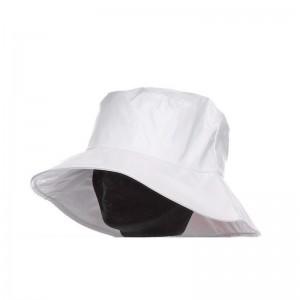 Capeline pluie femme polyuréthane blanc doublée polyester