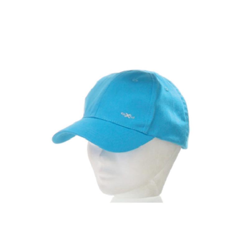 Casquette baseball enfant coton unie turquoise broderie ooxen - Kausia 8c67d217685