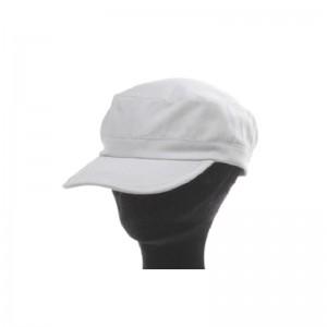 Casquette cubaine mixte coton gris clair