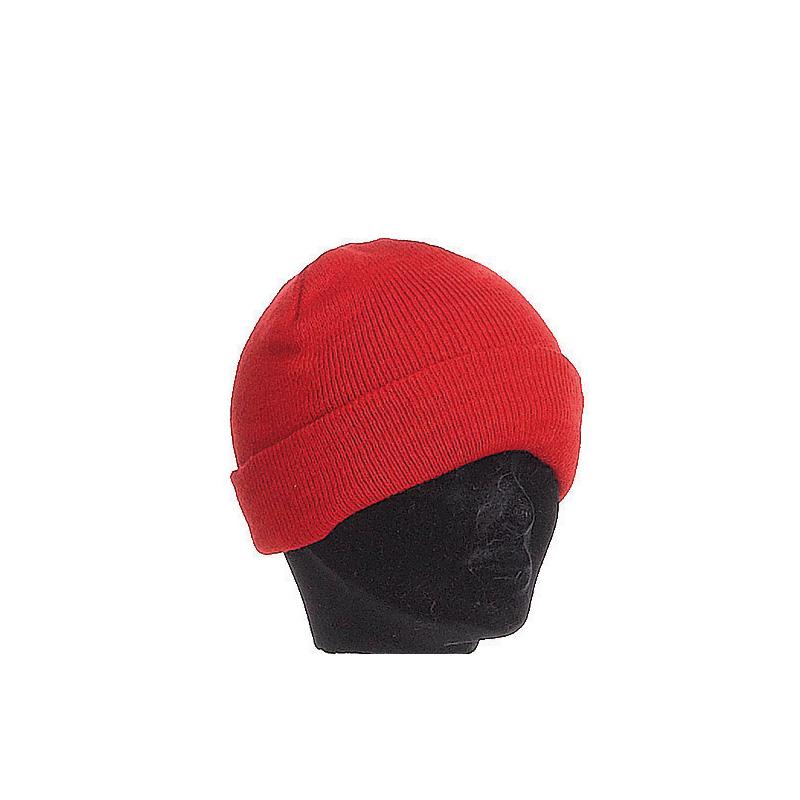 Bonnet enfant rouge large revers - Kausia 7c73f09327b