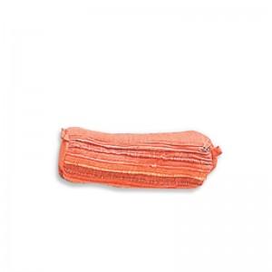 Trousse coton orange 22 cm