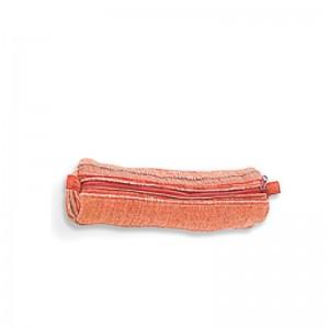 Trousse coton rouge 22 cm