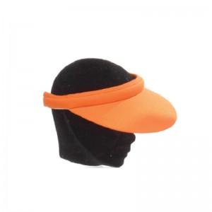 Visière mixte coton orange