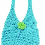 Panier enfant Lily turquoise