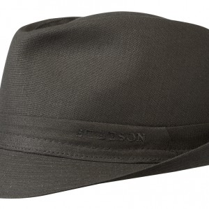 Chapeau trilby Teton Cotton Stetson noir