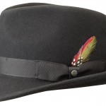 Chapeau trilby Elkader Stetson noir