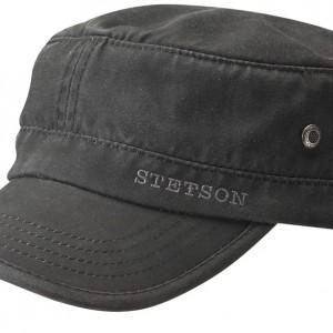 Casquette Army Datto noir Stetson