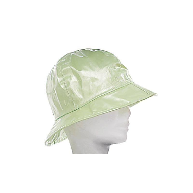 Chapeau pluie enfant polyuréthane vert clair - Kausia e1c63c7a590