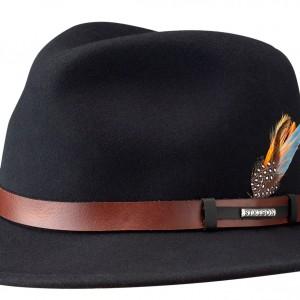 Chapeau malléable Sardis Stetson noir