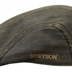 Casquette plate Madison Stetson marron