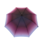 Parapluie droit femme automatique transformation dégradé de bordeaux