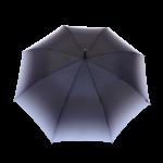 Parapluie droit femme automatique transformation dégradé de gris
