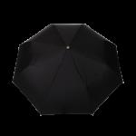 Parapluie pliant homme automatique noir poignée en bois