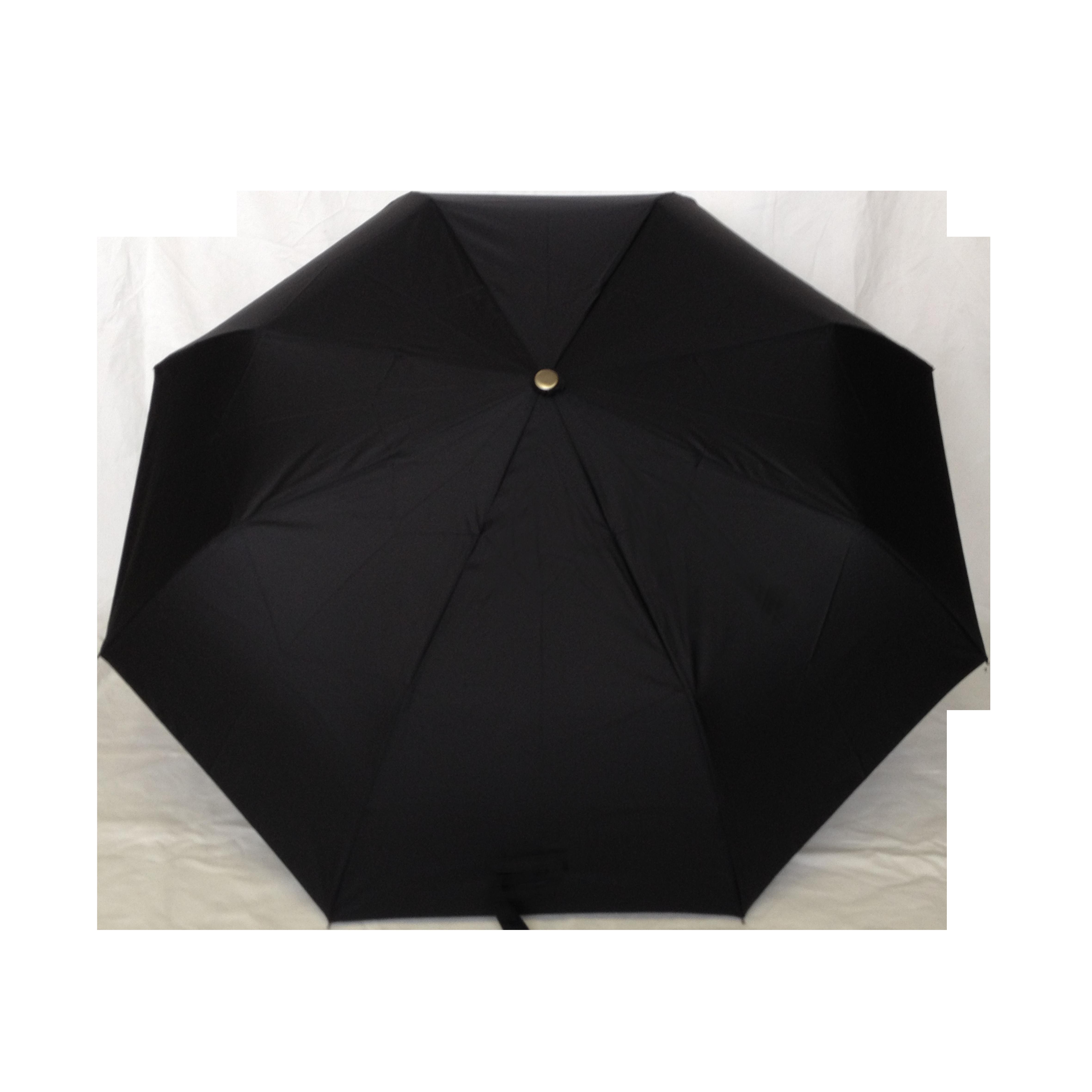 parapluie pliant homme automatique noir poign e en bois kausia. Black Bedroom Furniture Sets. Home Design Ideas