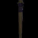 Parapluie droit mixte automatique dôme bi-couleur kaki et violet