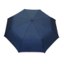 Parapluie pliant femme automatique bleu petite bordure
