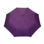 Parapluie pliant femme automatique violet petite bordure