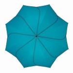 Parapluie pliant mixte automatique Sunflower Pierre Cardin turquoise et gris