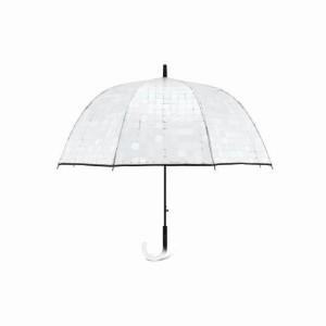 Parapluie cloche femme automatique transparent Pierre Cardin