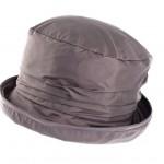 Chapeau de pluie calotte plissée doublé coton gratté
