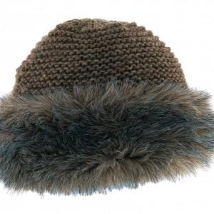 Toque en laine et polyester Fanelle