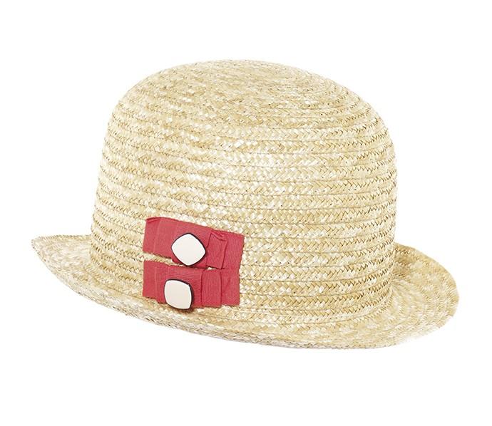 chapeau melon en paille cousue deux n uds galon au c t avec boutons kausia. Black Bedroom Furniture Sets. Home Design Ideas