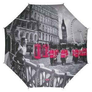 Parapluie droit femme automatique City Ynot London