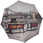 Parapluie droit femme automatique City Ynot New York