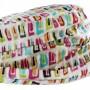 Chapeau de pluie plissé bord relevé