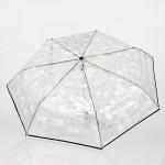 Parapluie pliant femme automatique transparent Easymatic Pierre Cardin