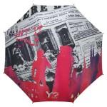 Parapluie droit femme automatique Skyline Ynot Rome
