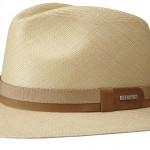 Chapeau Panama Pinecrest Stetson marron clair