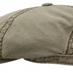 Casquette Brooklin Cotton Stetson olive