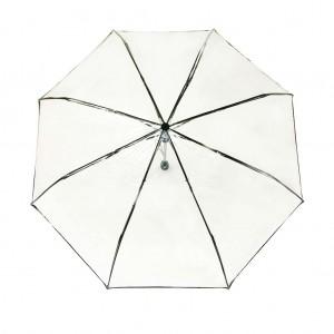 Parapluie pliant femme automatique transparent