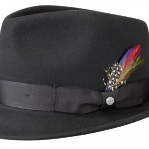 Chapeau trilby Richmond Stetson noir