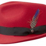 Chapeau trilby Richmond Stetson rouge