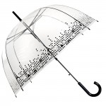 Parapluie cloche femme transparent Paris