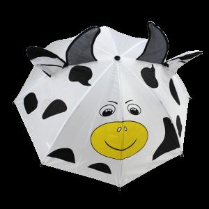 Parapluie droit enfant vache