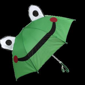 Parapluie droit enfant automatique grenouille