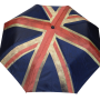 Parapluie pliant mixte automatique drapeau anglais