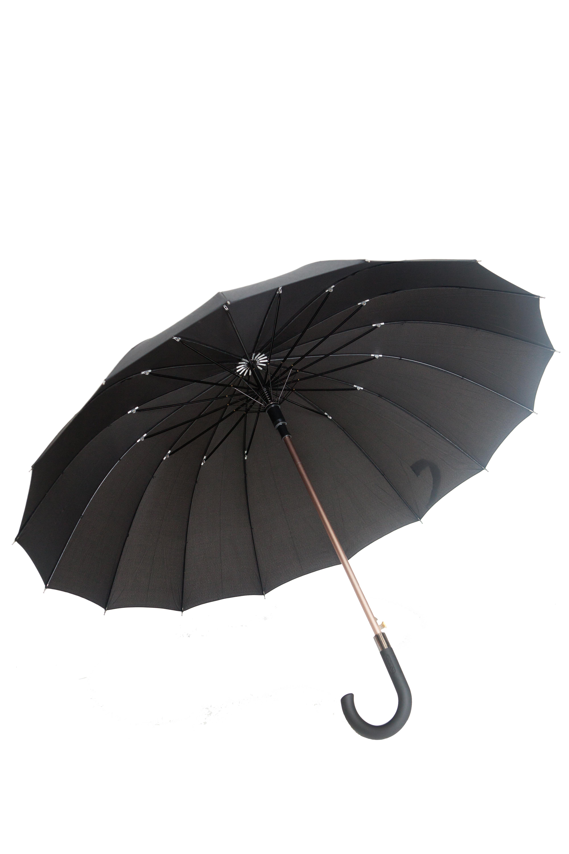 parapluie droit homme automatique noir kausia. Black Bedroom Furniture Sets. Home Design Ideas