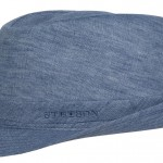 Chapeau trilby Geneva Linen Stetson bleu