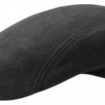 Casquette plate Madison Wool Cashmere Stetson noir