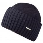 Bonnet en tricot Northport Merino Wool Stetson marine
