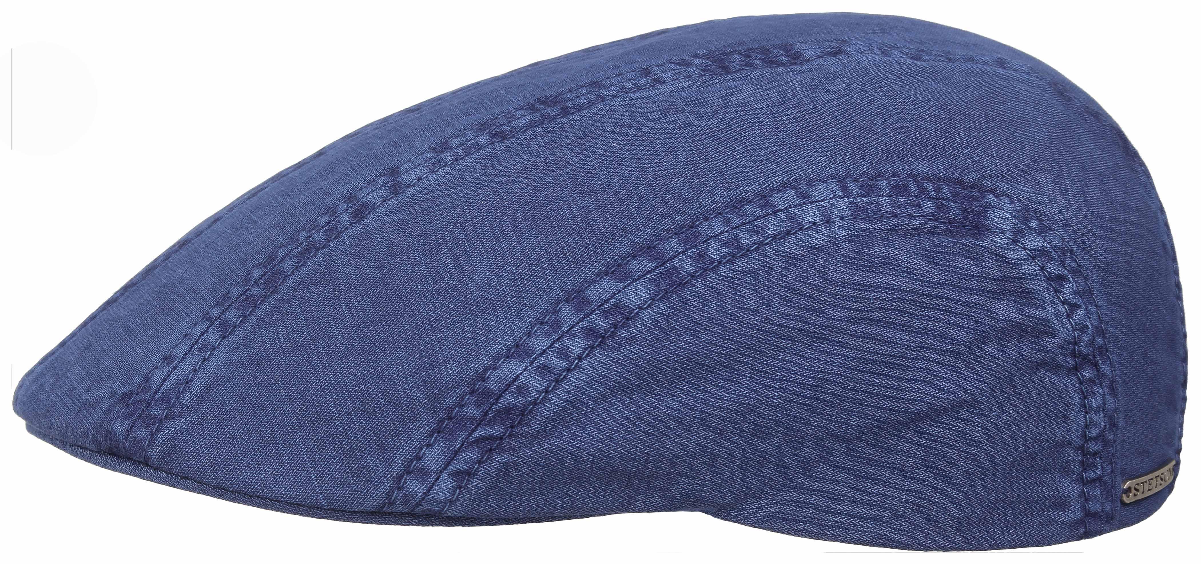 Casquette plate Madison Dye Stetson bleu - Kausia f30ff2f4b30