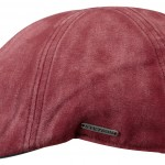 Casquette plate Texas Cotton Stetson rouge