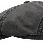 Casquette Brooklin Cotton Linen Stetson noir