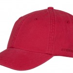 Casquette baseball Rector Stetson rouge