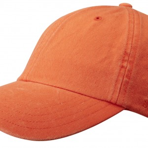 Casquette baseball Rector Stetson orange