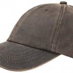 Casquette baseball Statesboro Stetson marron